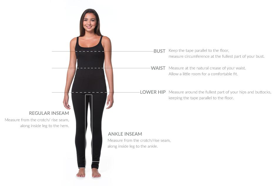 Womens's Size Chart