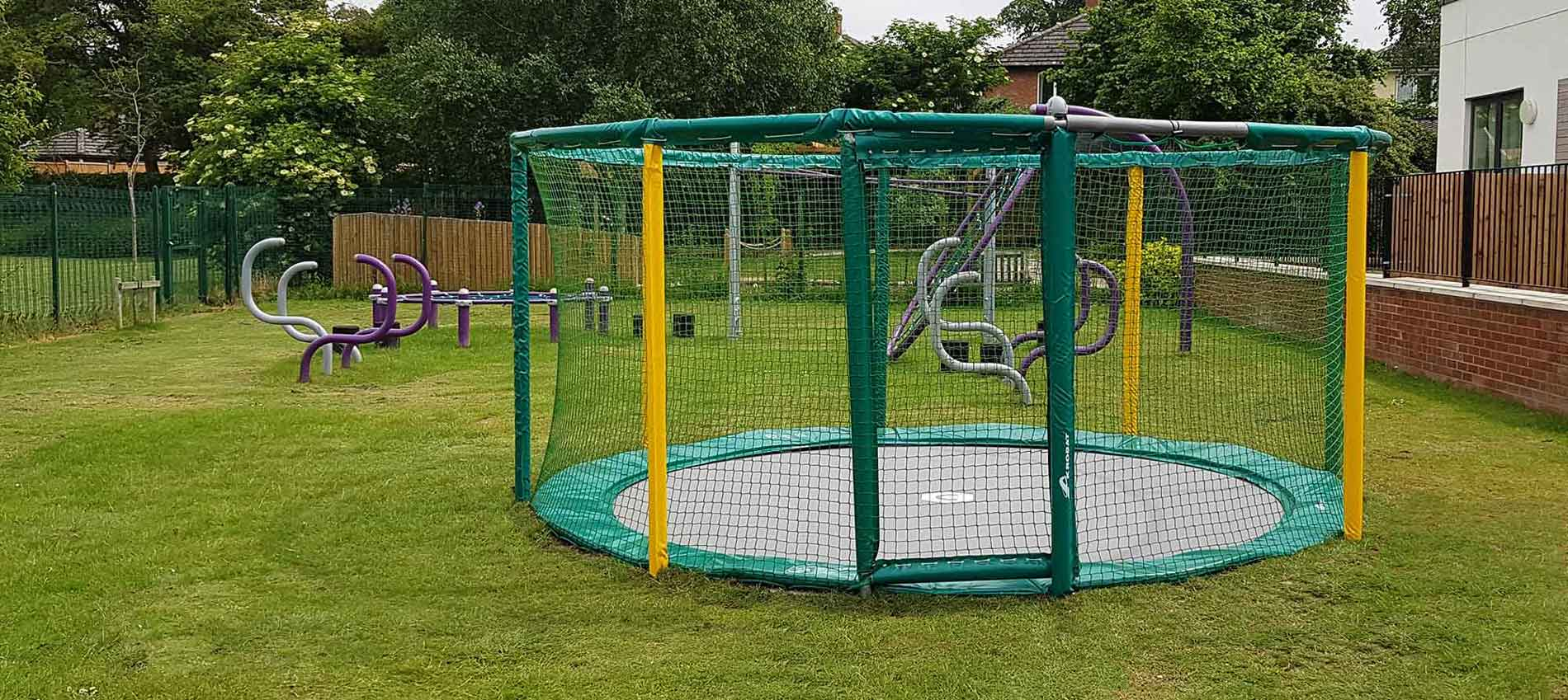 Trampolines for schools