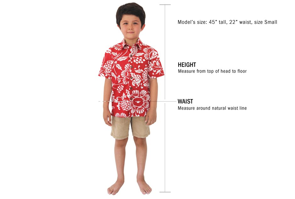 Kids's Size Chart