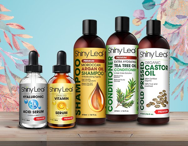Shiny Leaf Month End Sale - All Products 20% OFF