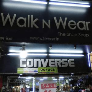 WALK N WEAR THE SHOE SHOP in Andheri (W), Mumbai