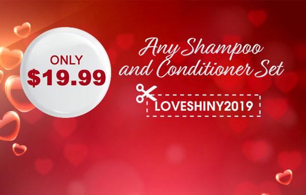 Only $19.99 for Any Shampoo & Conditioner Set