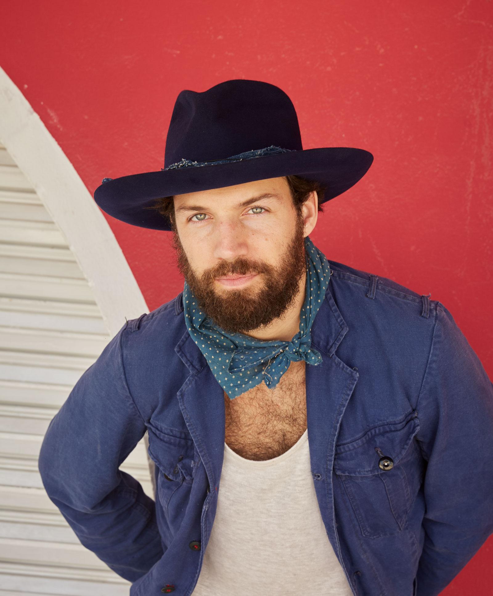 Worth /& Worth Mens Astor Black Hat