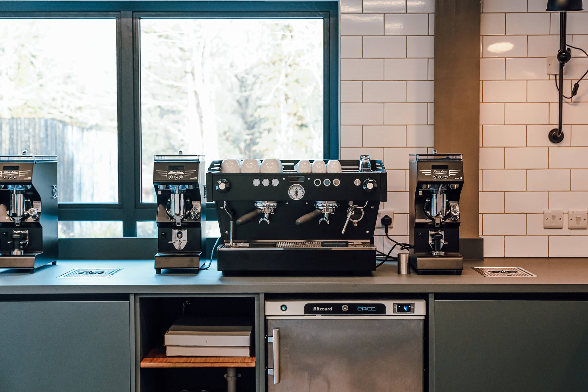 Coffee equipment that is used in the SCA Diploma training course