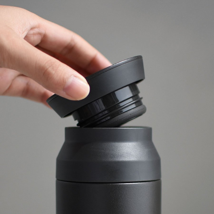KINTO TRAVEL TUMBLER 500ML / 17OZ REPLACEMENT LID BLACK THUMBNAIL 11