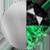 Baby Jaguar Necklace Silver|Emerald|Black Diamondettes