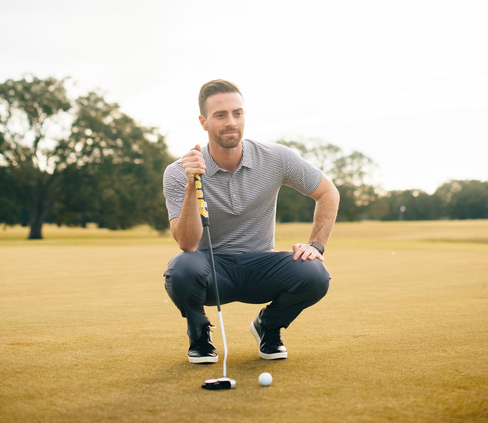 Alex Abruzza - Golf bamboo clothing - tasc Performance