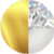 Gold|Pearl|White Diamondettes Swatch