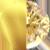 ICONS Mini Lightning Bolt Necklace Charm Gold|Yellow Diamondettes
