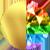 Gold Rainbow Diamondettes Swatch