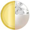 Gold|JUNE Pearl|White Diamondettes Swatch