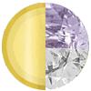 Gold|FEBRUARY Amethyst|White Diamondettes Swatch