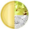 Gold|AUGUST Peridot|White Diamondettes Swatch