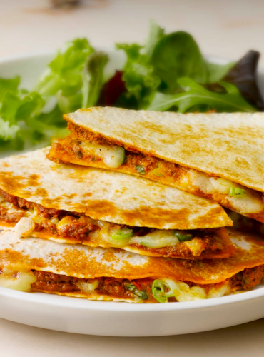 Cheese & Tomato Pesto Tortillas