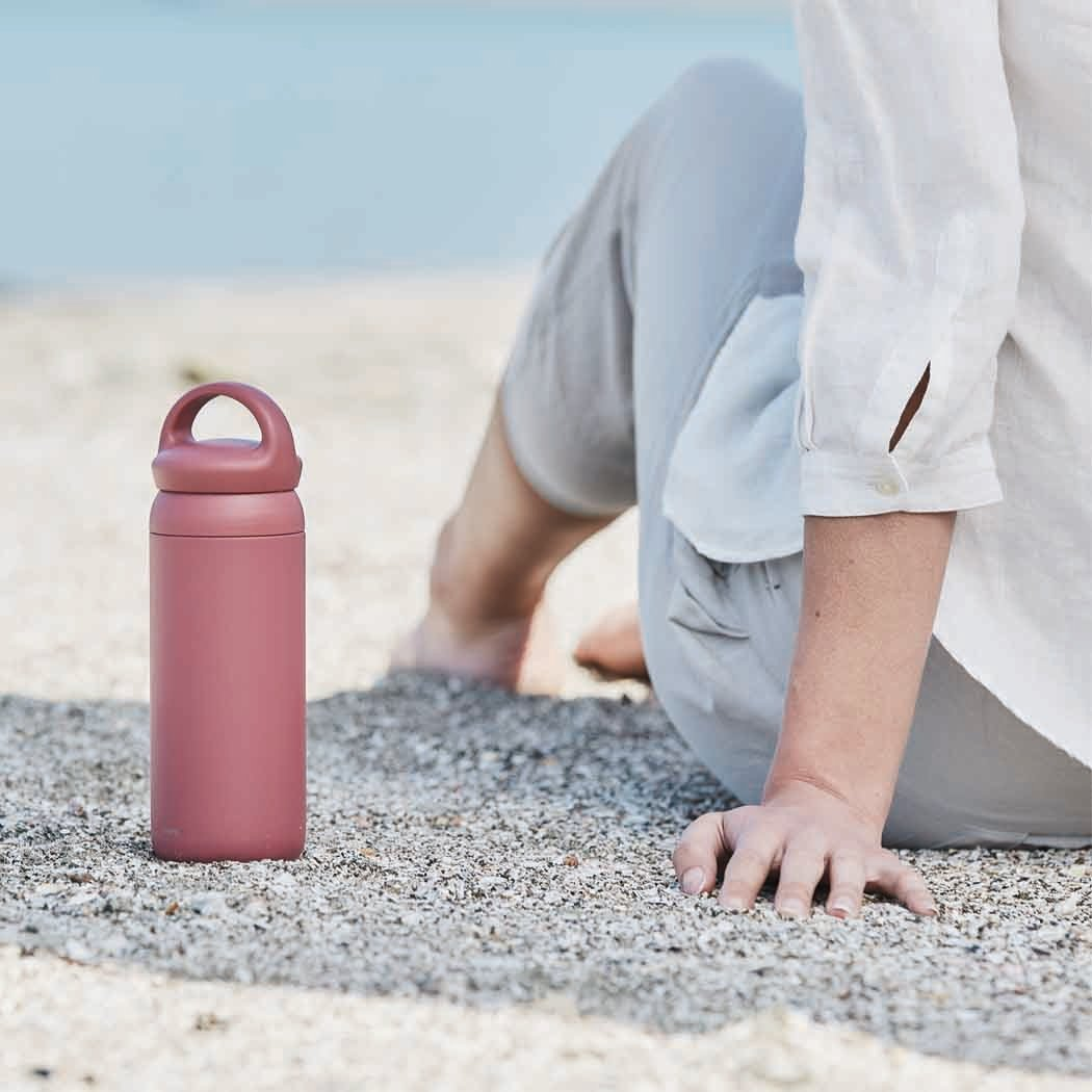 KINTO DAY OFF TUMBLER 500ML LID ROSE