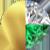 Gold|Emerald|White Diamondettes Swatch