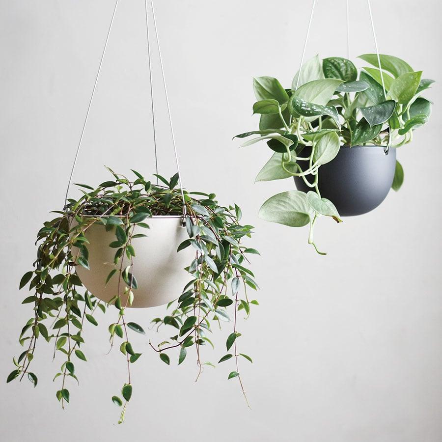KINTO PLANT POT 201_ 140MM / 6IN BLACK