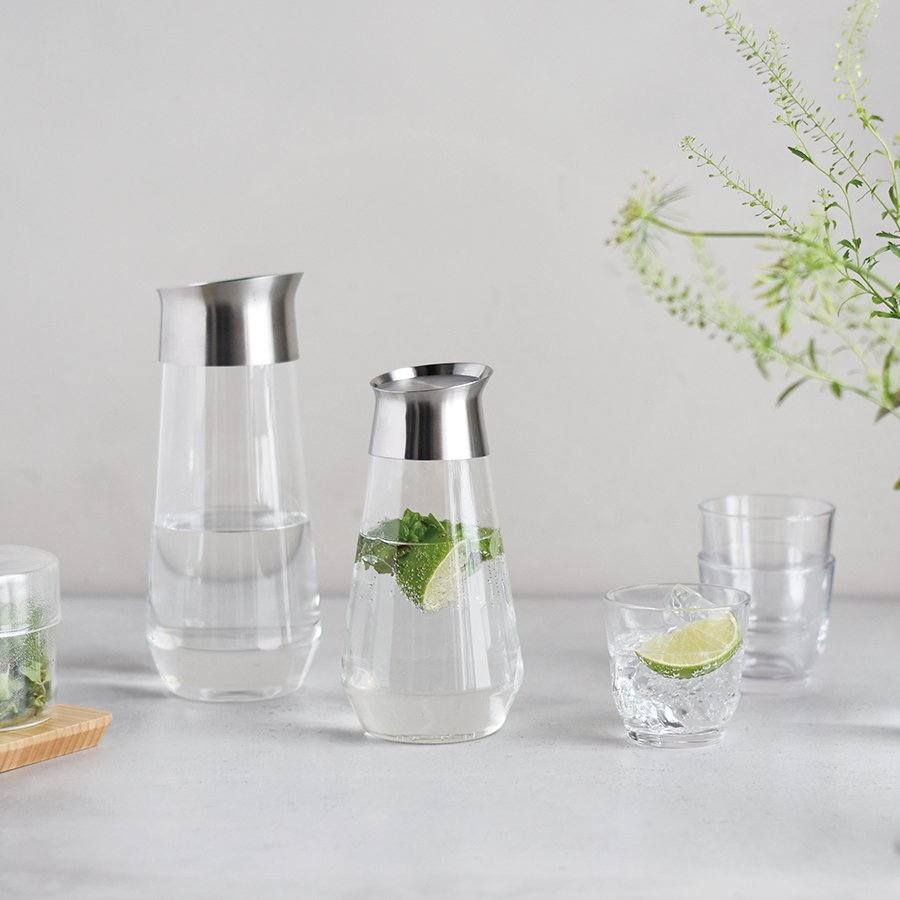 KINTO LUCE WATER CARAFE 1L / 34OZ CLEAR