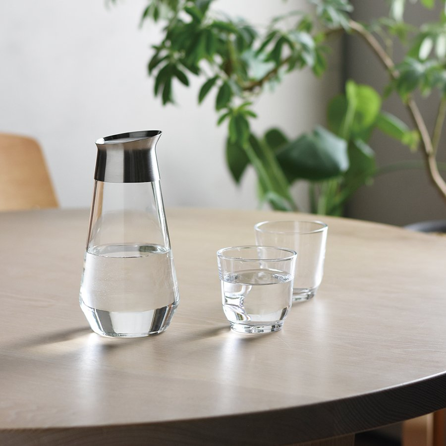 KINTO LUCE WATER CARAFE 1L / 34OZ CLEAR THUMBNAIL 2