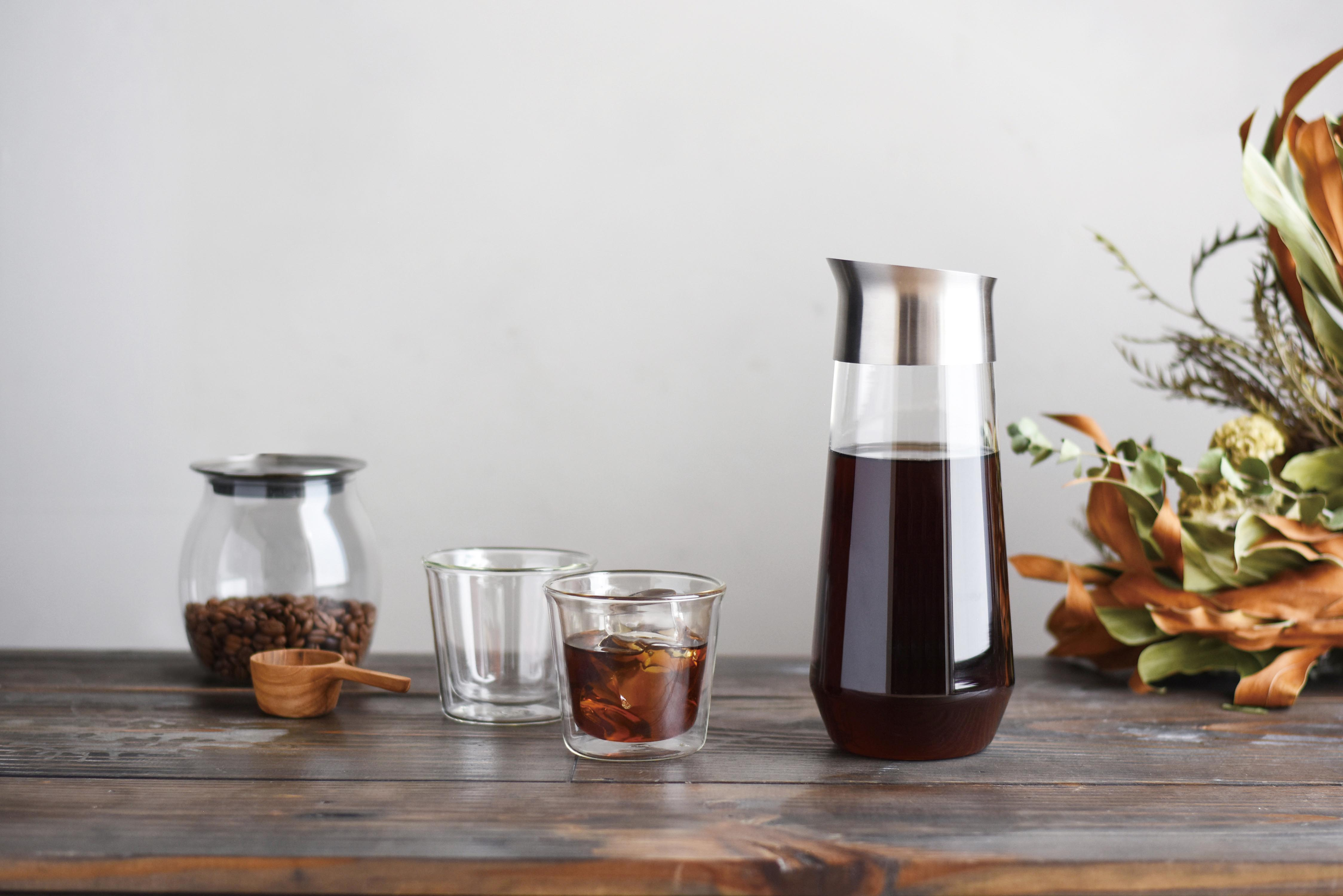 KINTO LUCE COLD BREW CARAFE 1L CLEAR