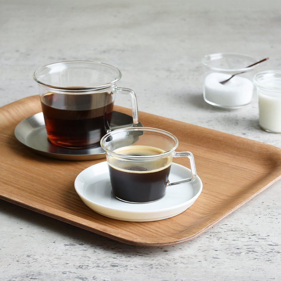 KINTO CAST ESPRESSO CUP CLEAR THUMBNAIL 1