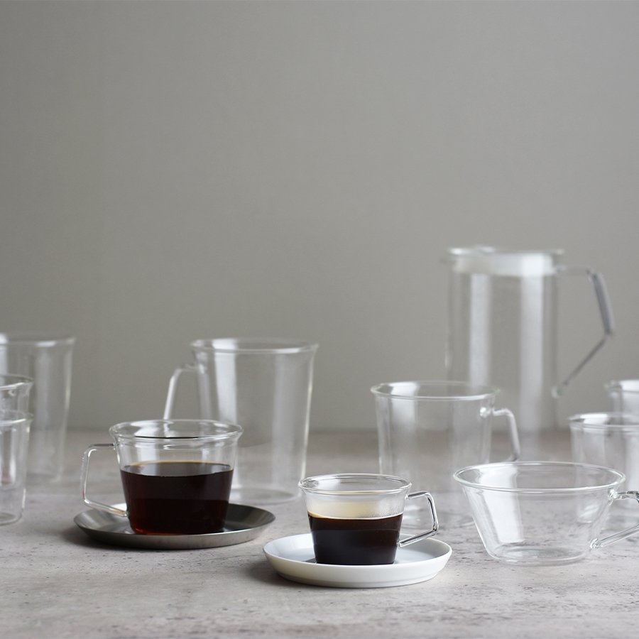KINTO CAST ESPRESSO CUP CLEAR THUMBNAIL 2