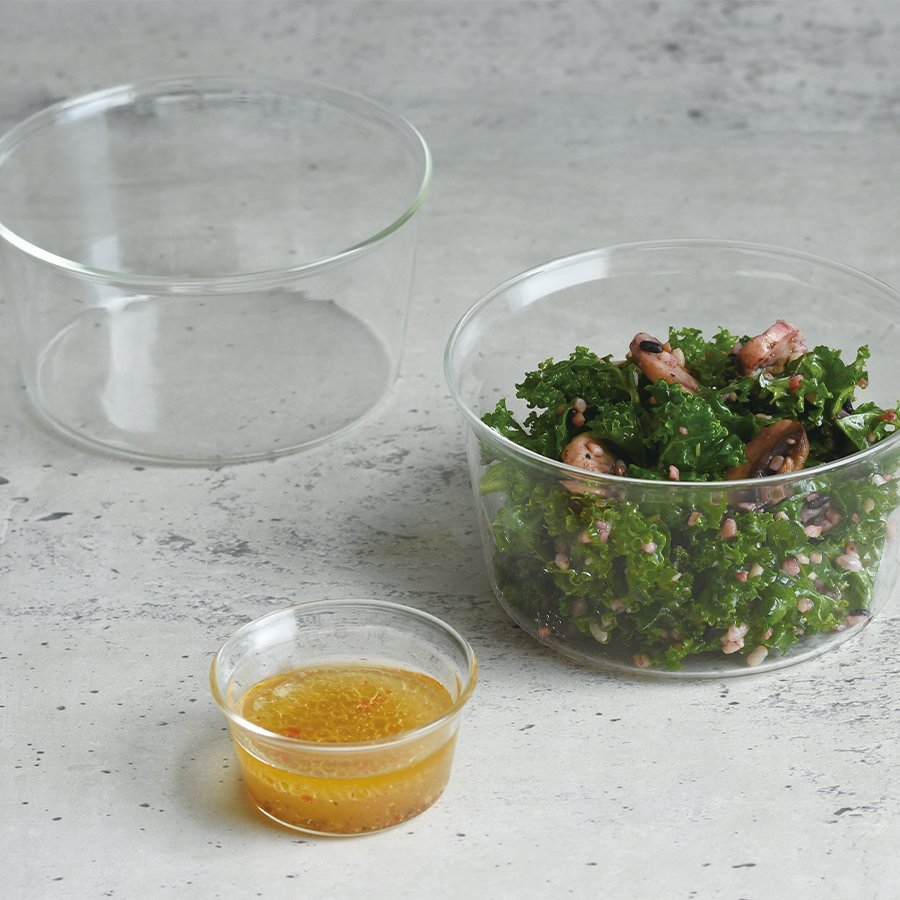 KINTO CAST BOWL 90MM CLEAR