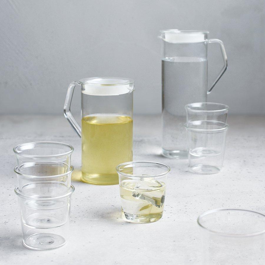 KINTO CAST WATER JUG 1.2L CLEAR THUMBNAIL 1