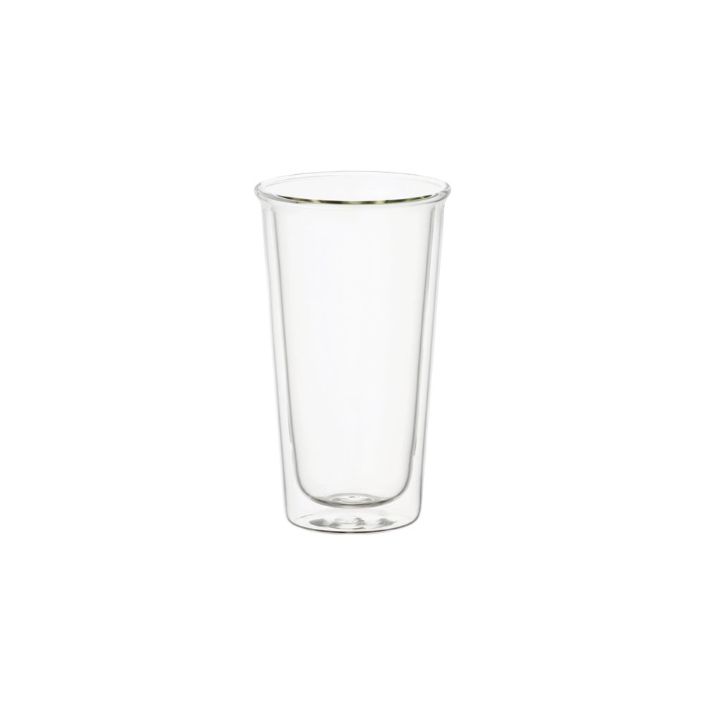 KINTO CAST DOUBLE WALL BEER GLASS CLEAR THUMBNAIL 1