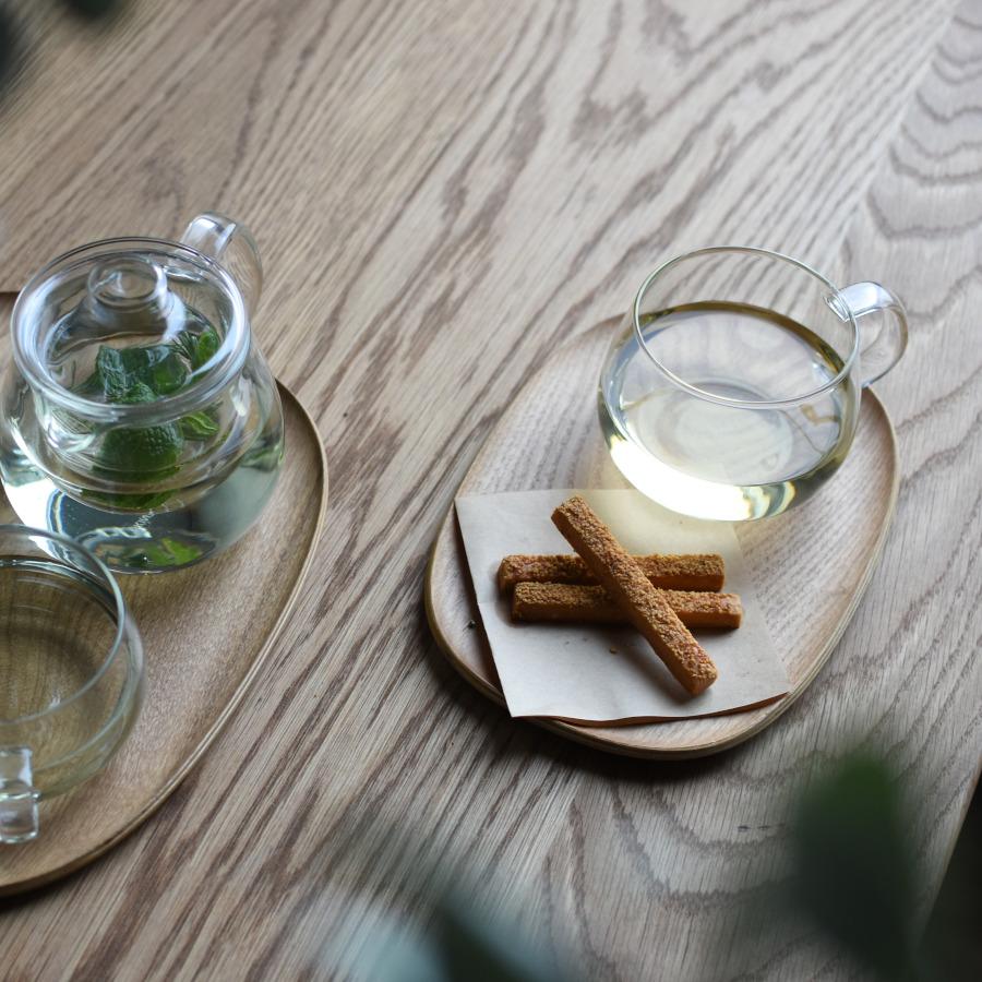 KINTO UNITEA TEAPOT SET LARGE GLASS CLEAR