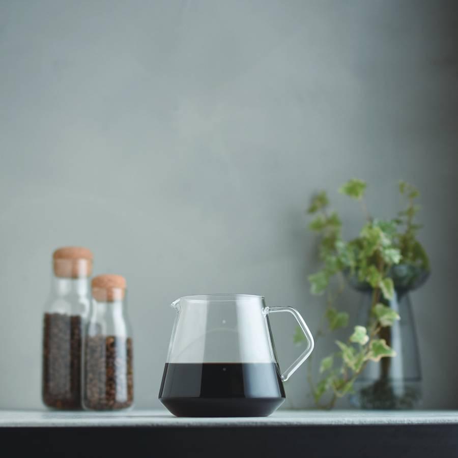KINTO SCS-S02 COFFEE SERVER 600ML CLEAR THUMBNAIL 1