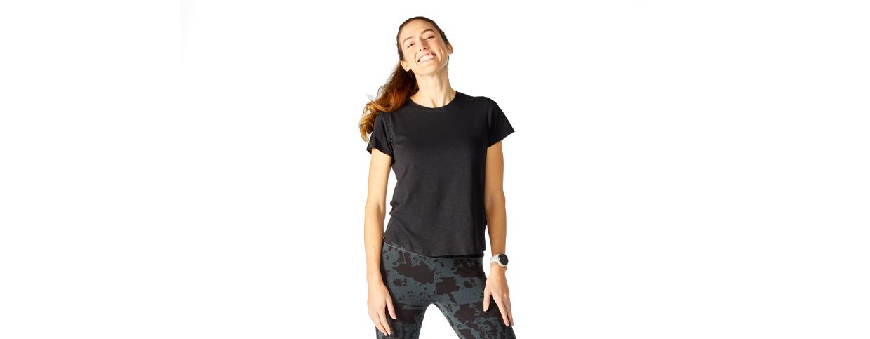 Women's short sleeve tops - bamboo short sleeve shirts - tasc Performance