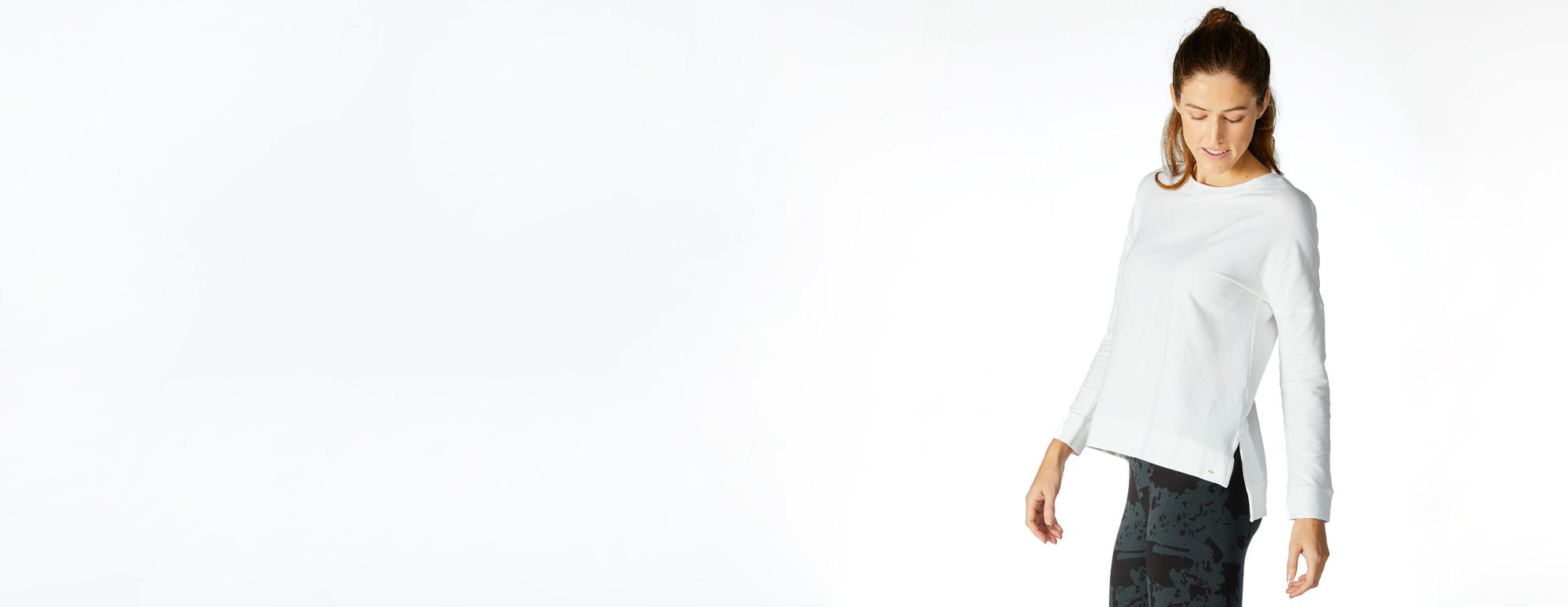 Women's Bamboo Long Sleeve Shirts - tasc Performance