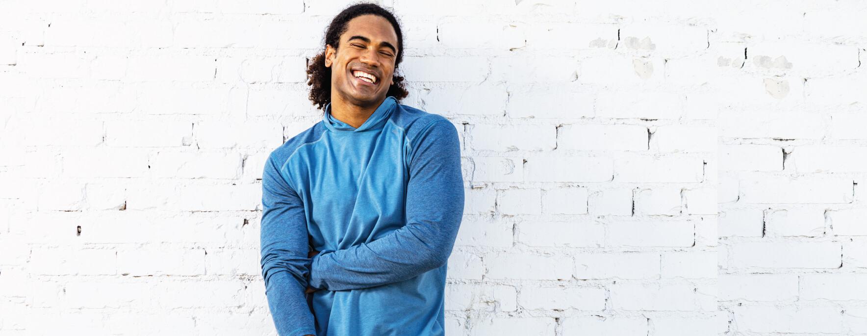 Men's bamboo long sleeve shirts - tasc Performance