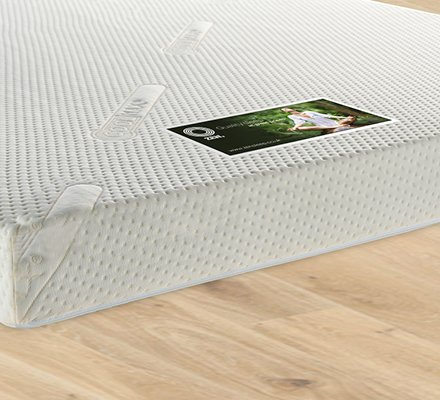 Zen Kooltop 7.5cm 70kg Coolblue Gel Foam Mattress Topper