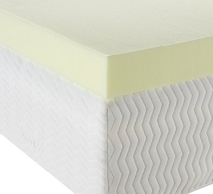 Essentials 7.5cm 40kg Memory Foam Mattress Topper (£64.99)