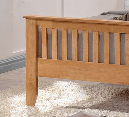 Turin Wood Bed Frame