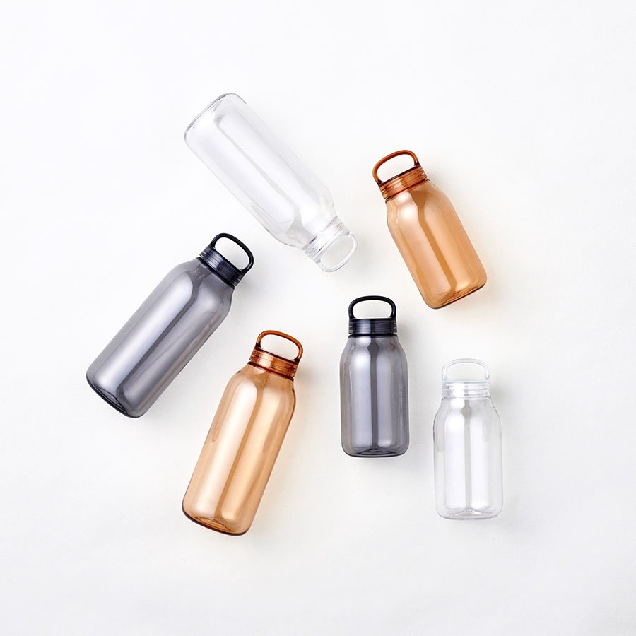 KINTO WATER BOTTLE 300ML CLEAR THUMBNAIL 2