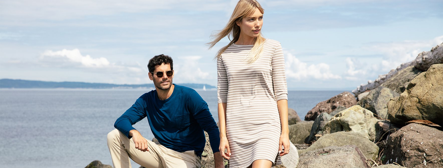 tasc Performance takes a day trip to the coast in new select Fall styles