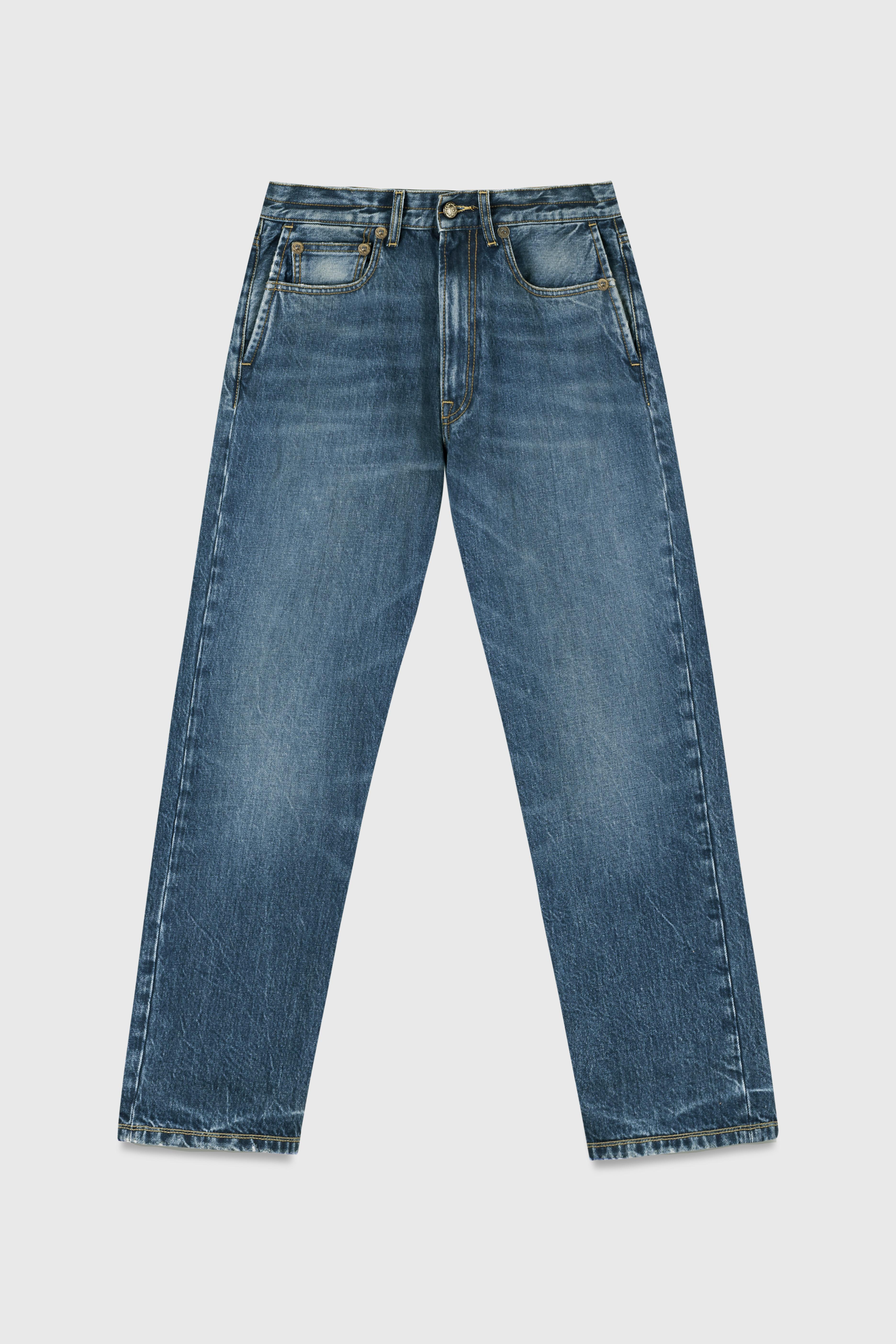 Washed denim boyfriend jeans Small Image 3