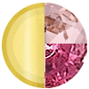 Gold|Ruby|Pink Diamondettes Swatch
