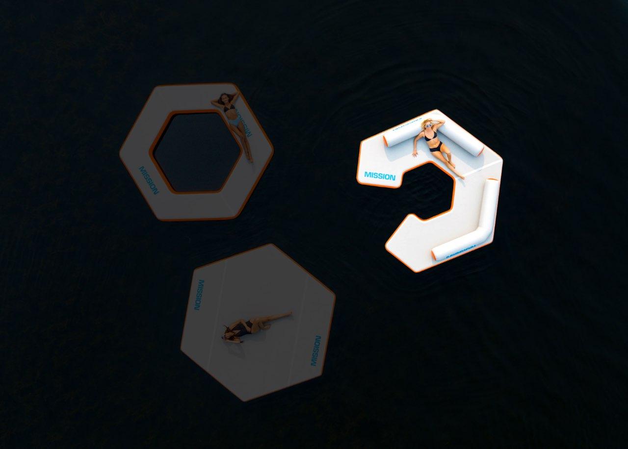 REEF HEX 82 - (11.5' x 11.5' x 6
