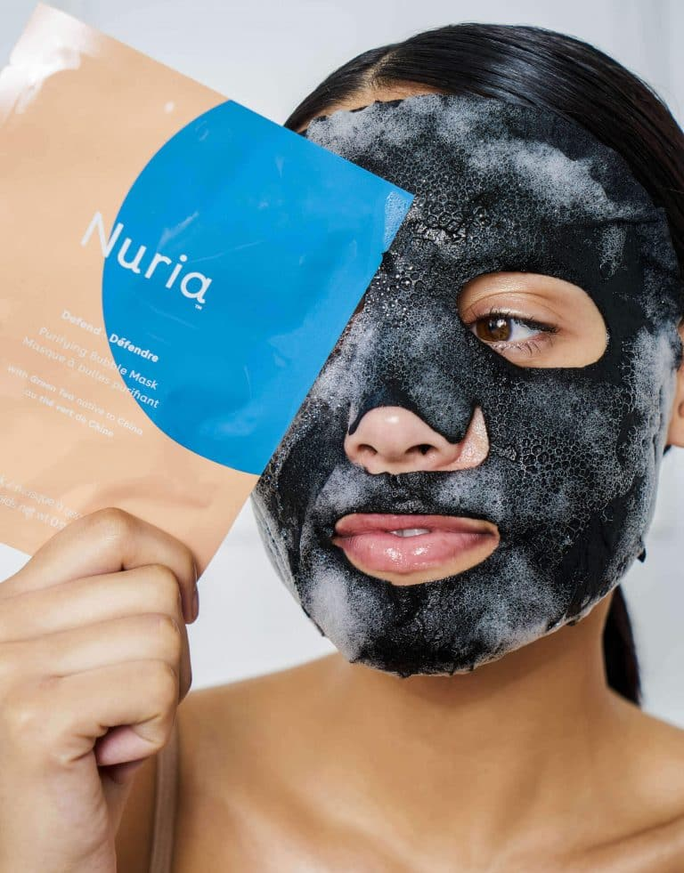 Defend Purifying Bubble Mask with Green Tea
