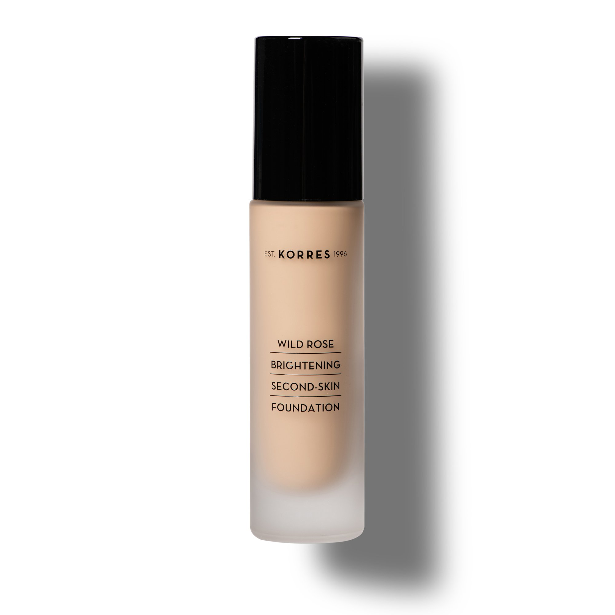 Korres Makeup Shade 2 Apothecary Wild Rose Brightening Second Skin Foundation