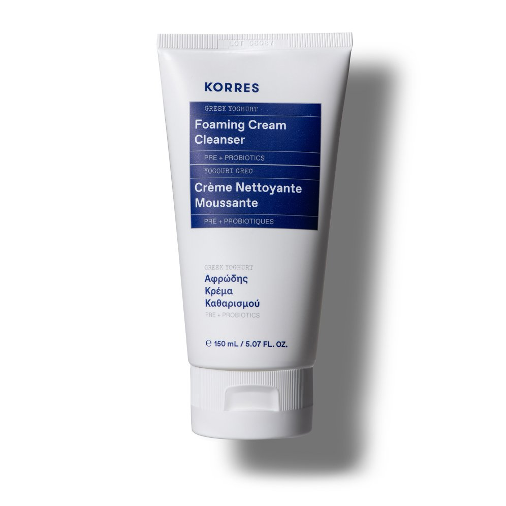 Korres Hydration Greek Yoghurt Foaming Cream Cleanser