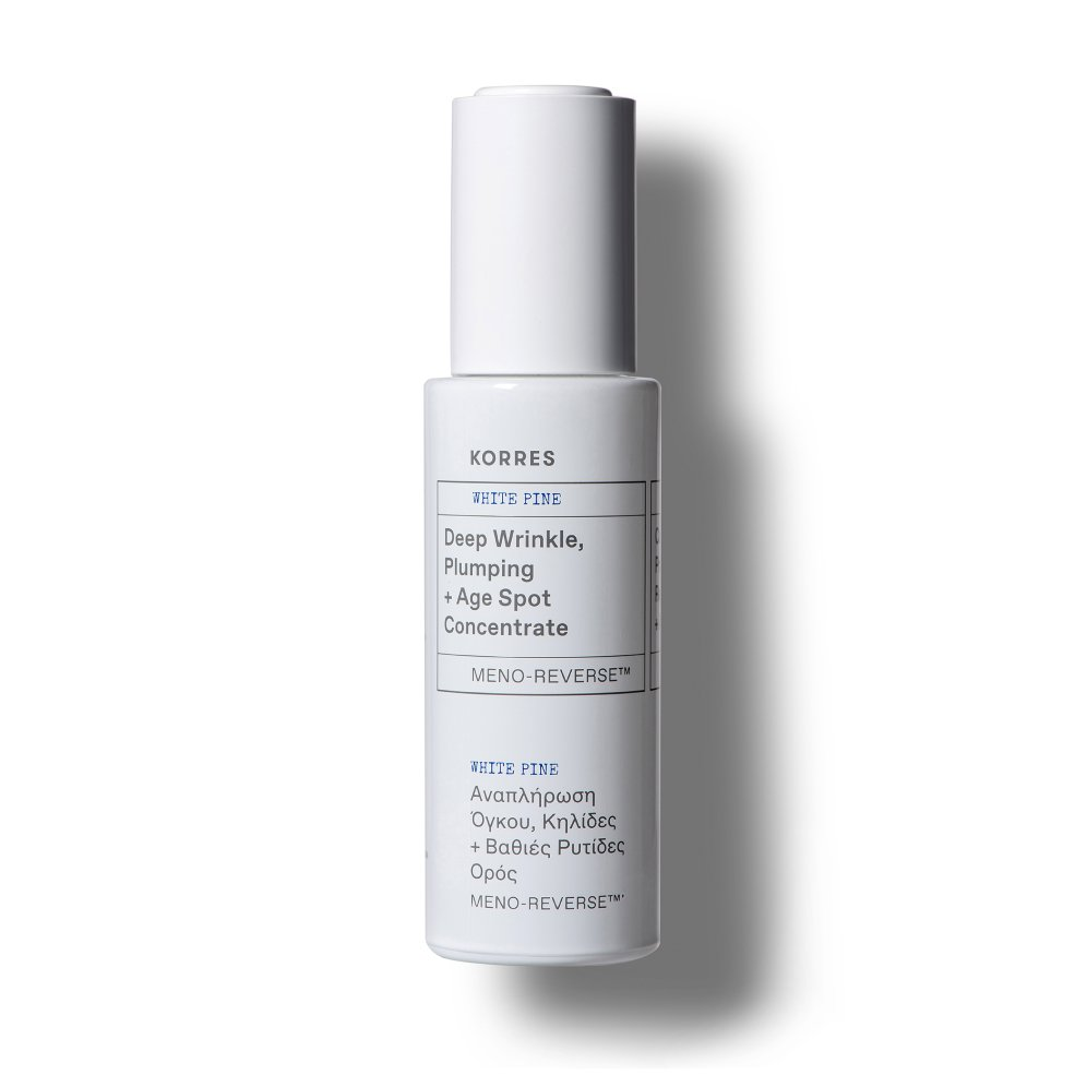 Korres Anti-aging White Pine Meno-Reverse™ Deep Wrinkle, Plumping + Age Spot Concentrate