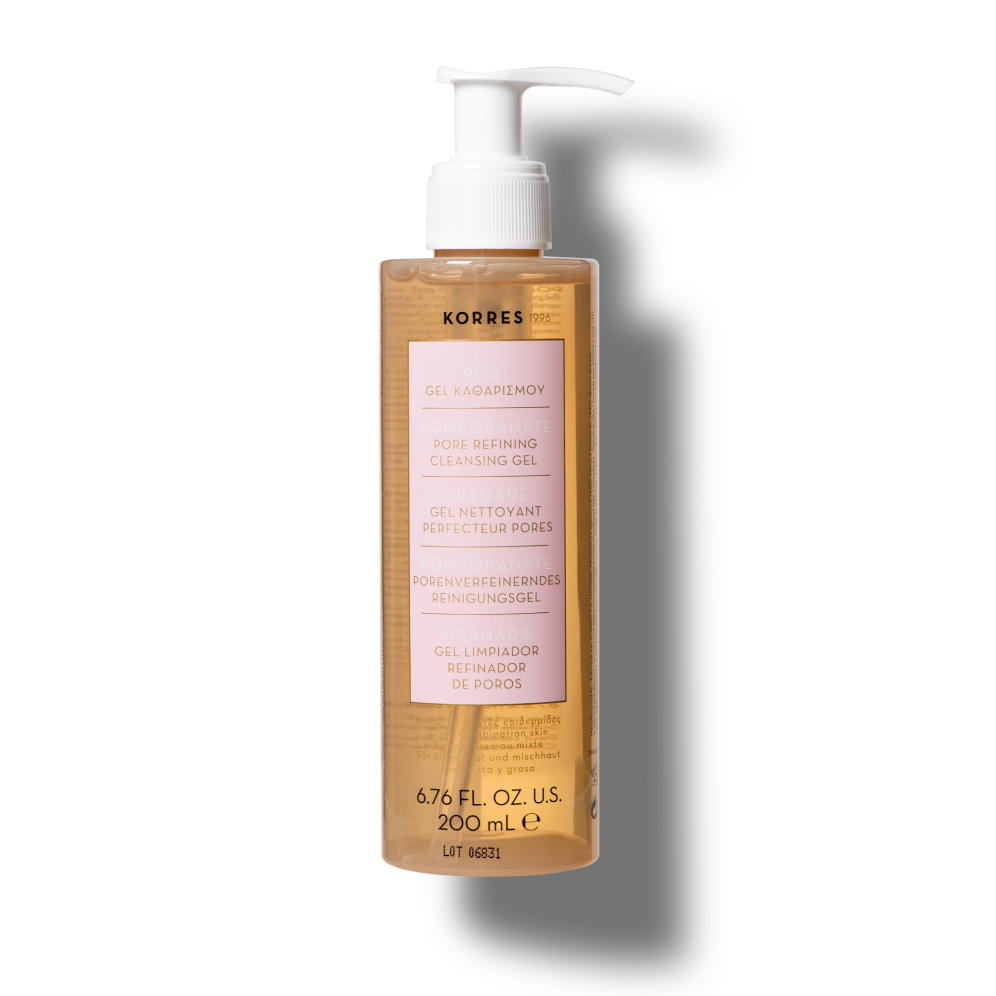 Korres Pore Minimizing + Oil Control Pomegranate Pore Refining Cleansing Gel