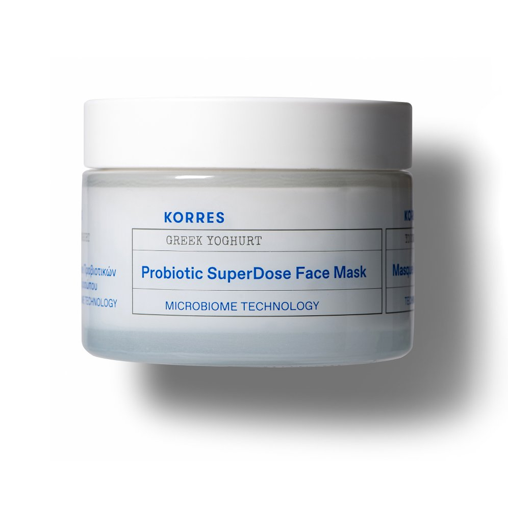 Korres Hydration Greek Yoghurt Probiotic SuperDose Face Mask