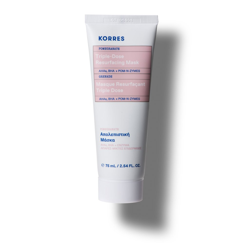Korres Pore Minimizing + Oil Control Pomegranate Triple-Dose Resurfacing Mask