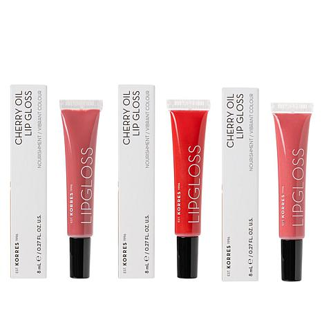 Cherry Oil Lip Gloss Trio Thumbnail